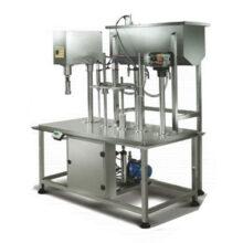 دستگاه پرکن مایعات رقیق (ثقلی) مدل KHM1000