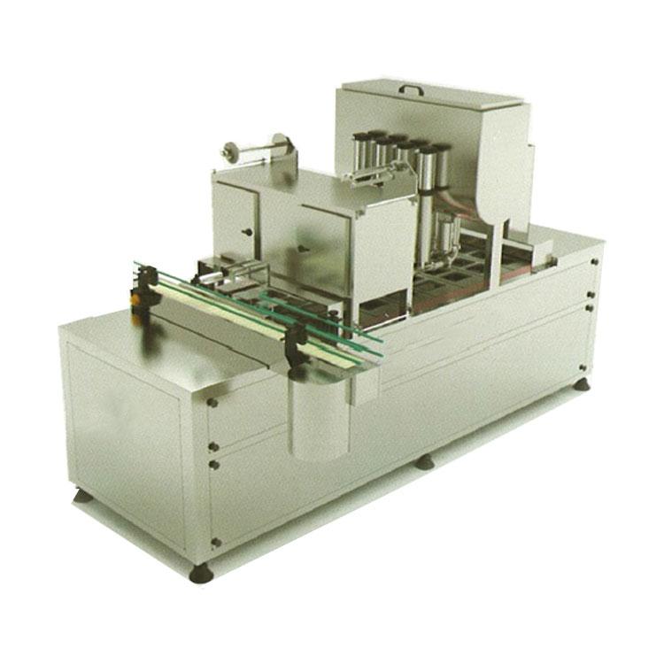 ماشین پرکن تمام اتوماتیک خطی پنیر و دوغ مدل SM5000