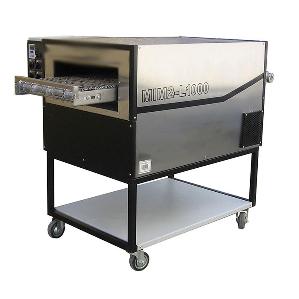 دستگاه فر ریلی پیتزا – برگر مدل MIM 2-L 1000