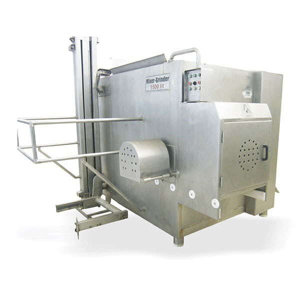 دستگاه میکسر چرخ گوشت ۱۵۰۰ لیتری