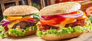 صنعت همبرگر