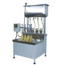 دستگاه پرکن مایعات غلیظ (ویسکوز) سیلندپیستونی مدل KHM700