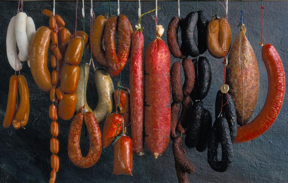 sausages type