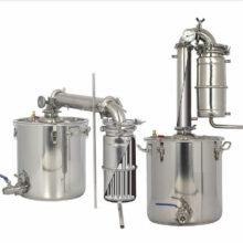 دستگاه عرق گیری یا تقطیر AG، هفده لیتری